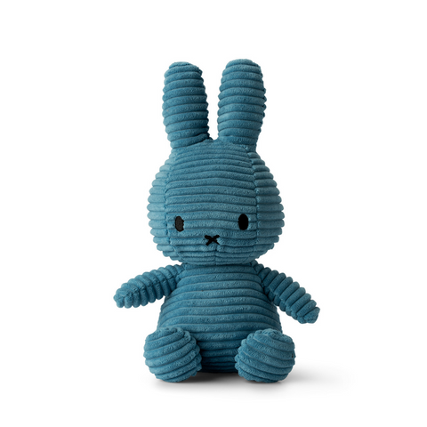 Miffy Aviator Blue Corduroy Soft Toy
