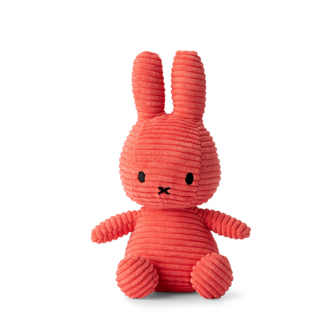 Miffy Bubblegum Pink Corduroy Soft Toy