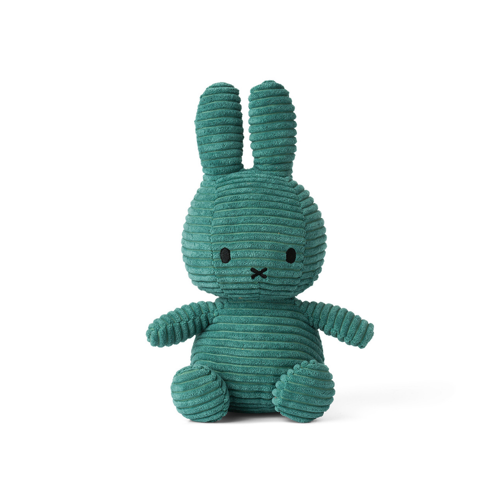 Miffy Green Corduroy Soft Toy