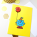 Mr. Happy Birthday with Badge