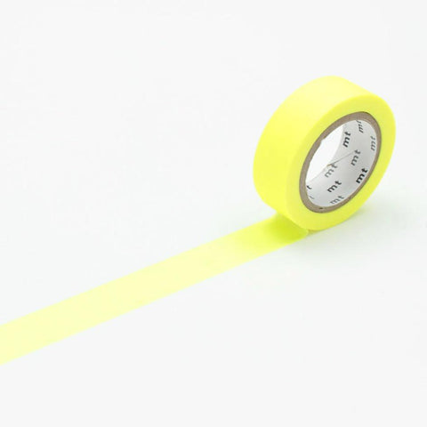 Shocking Yellow Washi Masking Tape