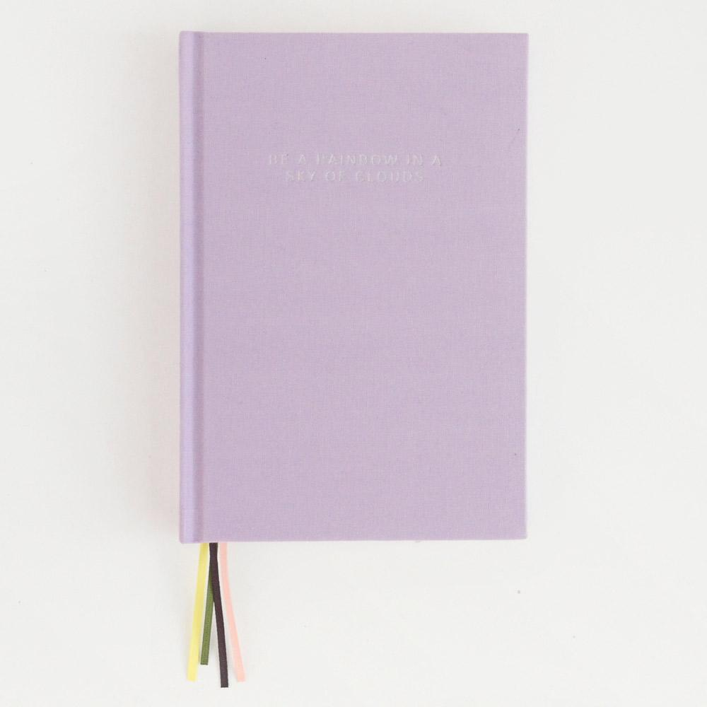 Caroline Gardner Lilac Multi Ribbon Journal