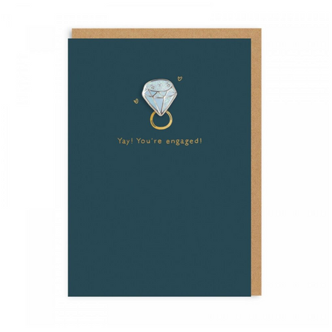 Diamond Engagement (Card With Enamel Pin)
