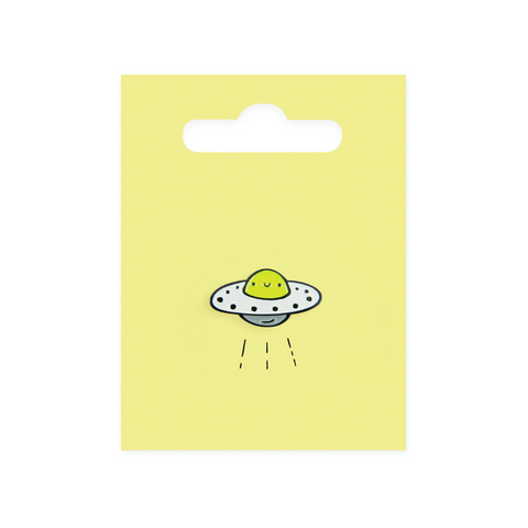 UFO Enamel Pin Badge