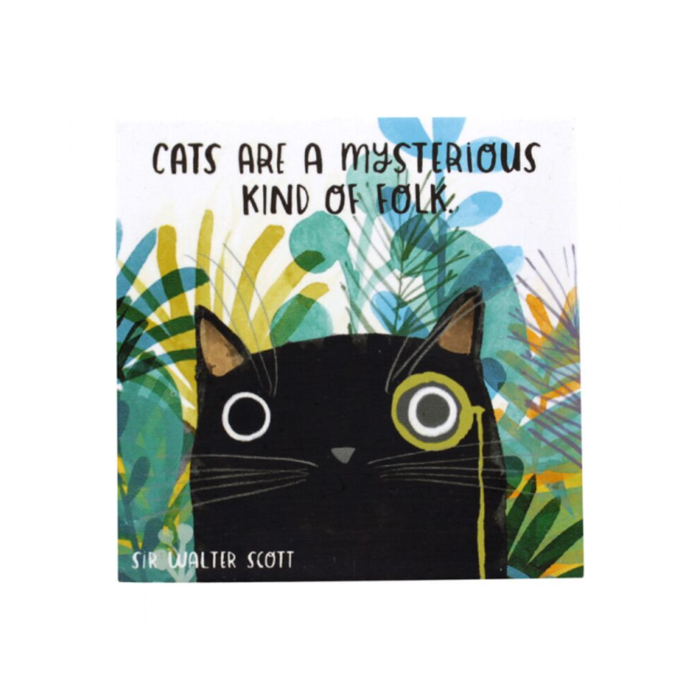 Planet Cat Mysterious Folk Coaster