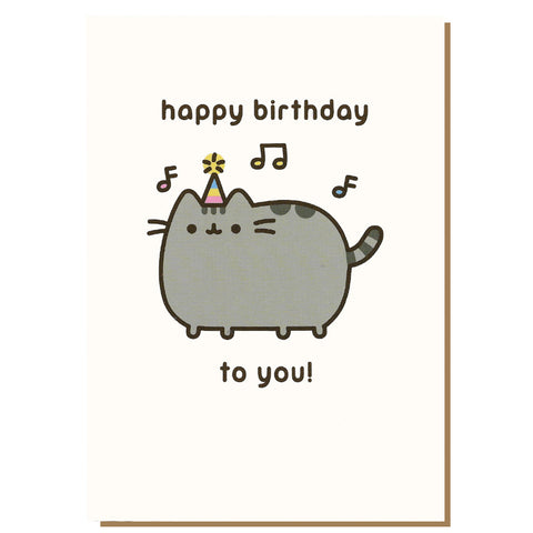 Happy Birthday To You! Pusheen