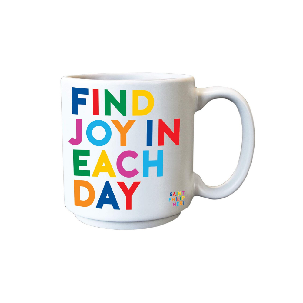 Find Joy In Each Day Espresso Mug