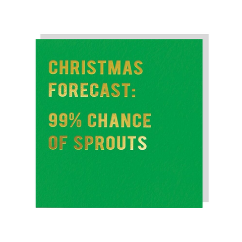 99% Chance Of Sprouts