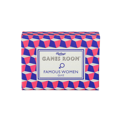 Ridley's Game Room Famous Women Quiz