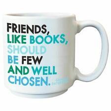 Friends, Like Books Espresso Mug