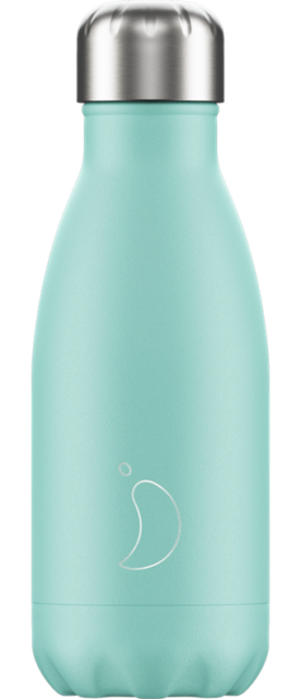 Chilly's Pastel Green Water Bottle 260ml