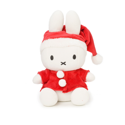 Miffy Santa Soft Toy