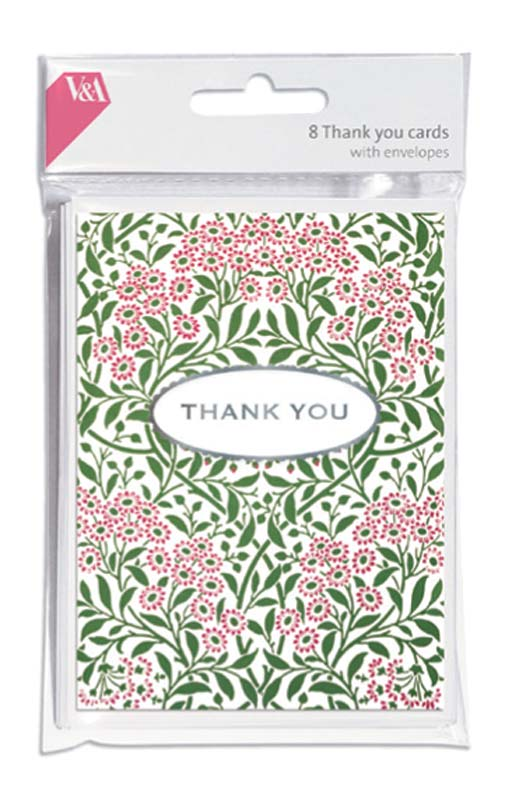 Michaelmas Daisy Wallpaper Thank You Cards