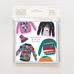 Christmas Jumpers Mini Christmas Card 5 Pack