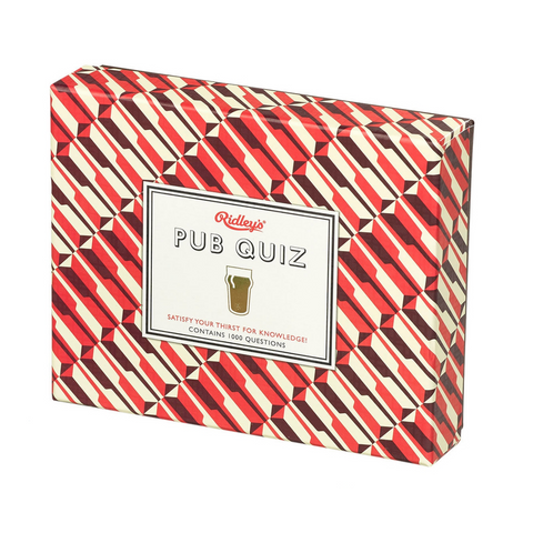 Ridley's Game Room Pub Quiz