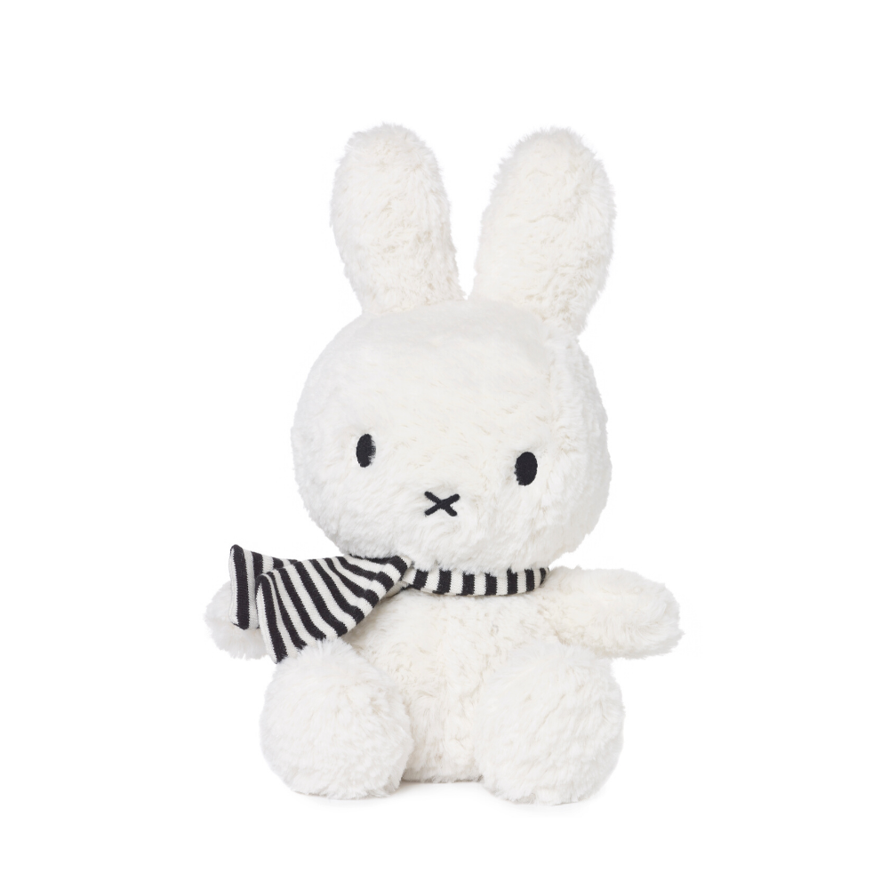 Miffy White Winter Soft Toy
