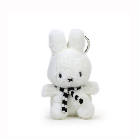 Miffy White Winter Keyring
