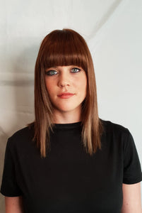 Maple Clip In Bangs/Fringes