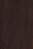Dark Chocolate (Dark Brown) - Level 2 Clip In Hair