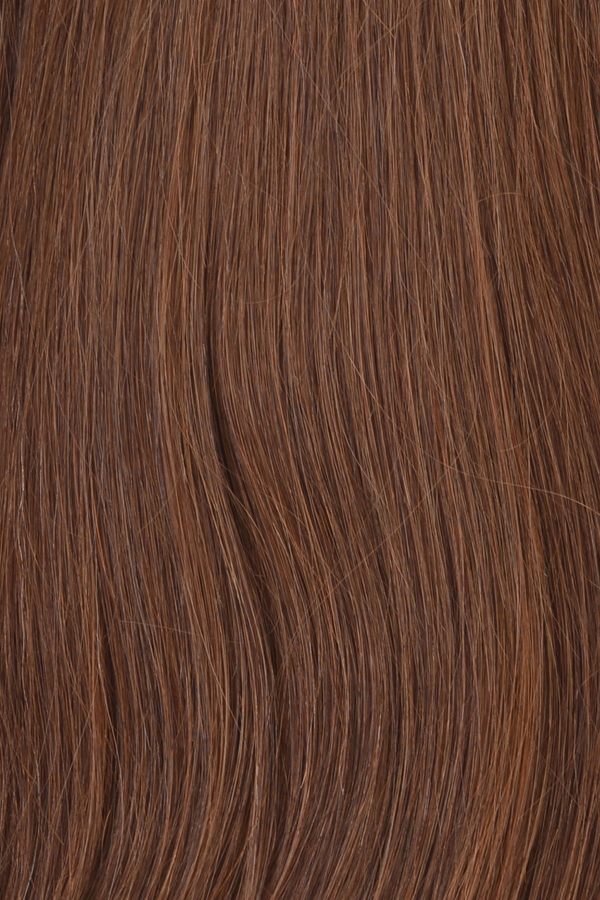 Toffee (Lighter Brown) - Level 6 Clip In Hair