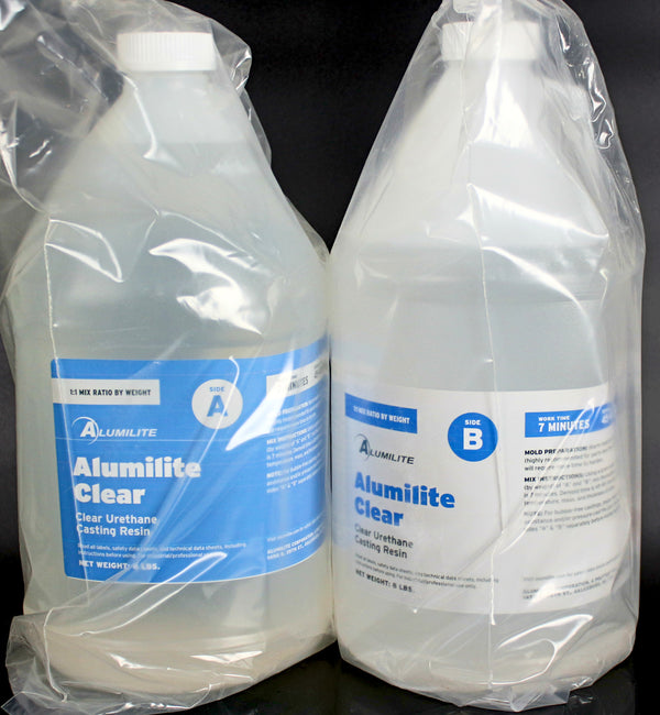 Alumilite Clear Urethane Resin - 16 Pound Kit