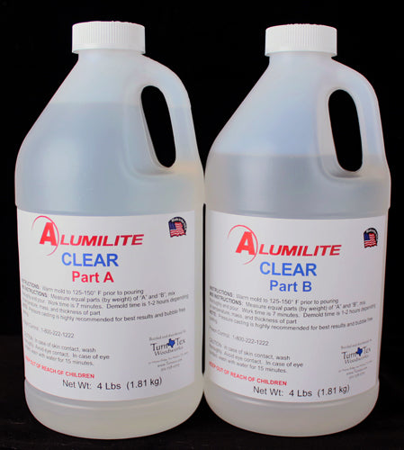 Alumilite Clear Urethane Resin - 8 Pound Kit