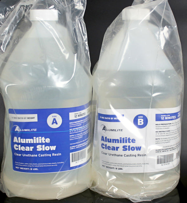 Alumilite Clear Slow Urethane Resin - 16 Pound Kit