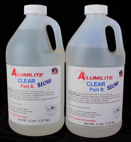 Alumilite Clear Slow Urethane Resin - 8 Pound Kit
