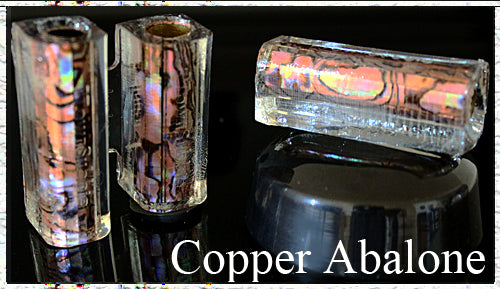Copper Paua Abalone Pen Blank - Junior Aaron