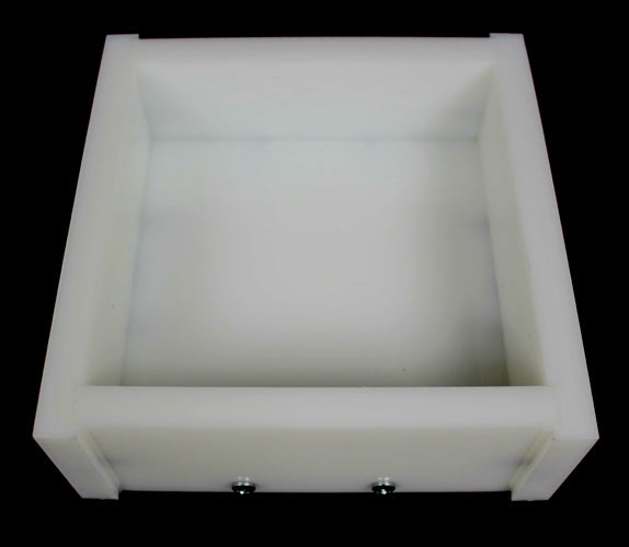 "HDPE 5-1/4"" square x 1-1/2"" Block Mold"