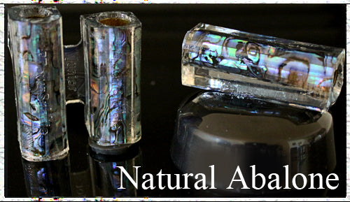 Natural Junior Paua Abalone Pen Blank