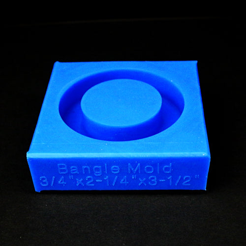 Bangle Blank Mold - Blue