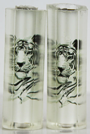 Clear Cast Tiger Outline Pen Blanks - Sierra
