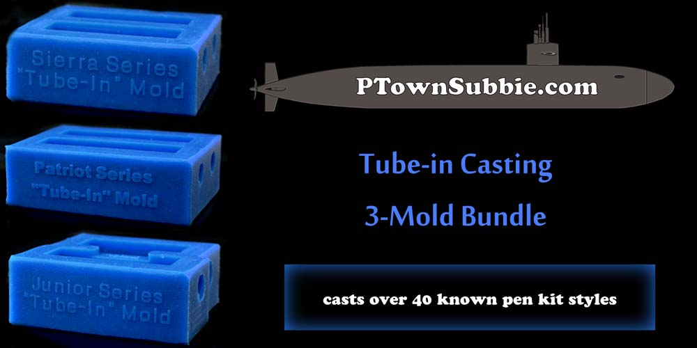 PTownSubbie Tube-in Casting Bundle