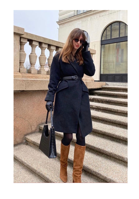 Ines Heli wears our ARIES bag