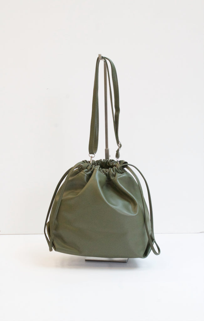 RONA Khaki Drawstring Bag