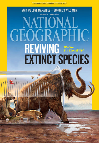 National Geographic Magazine 2013