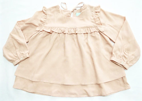 Ruffled Yoke Top