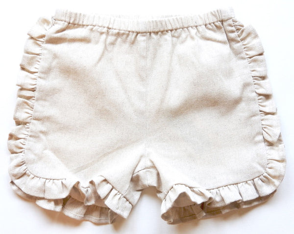 Ruffled Track Short