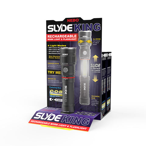 SLYDE KING - COUNTER TOP DISPLAY