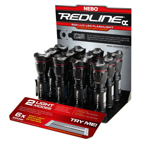 REDLINE OC™ COUNTER TOP DISPLAY