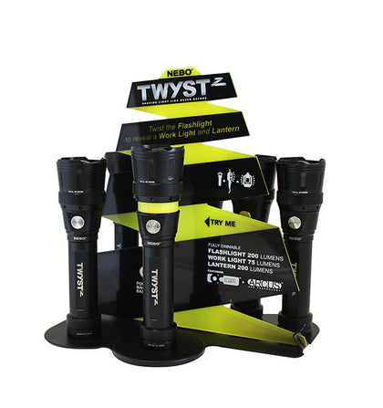 TWYST™ Z - COUNTER TOP DISPLAY