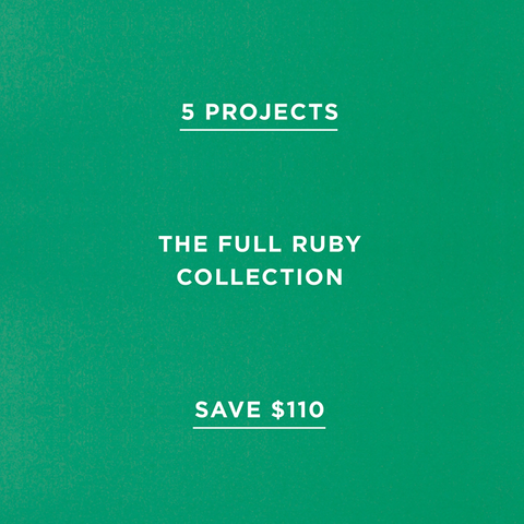 The Full Ruby Collection (Save $110)