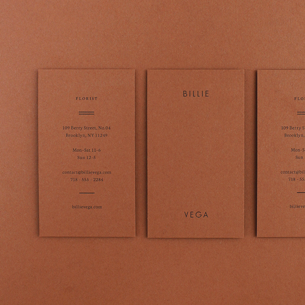 Billie Business Cards