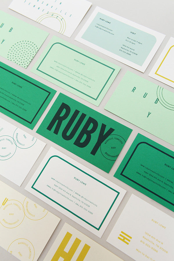 Ruby Business Cards