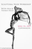 Sculptural Nude Workshop April 13, 2019 - With Ayla