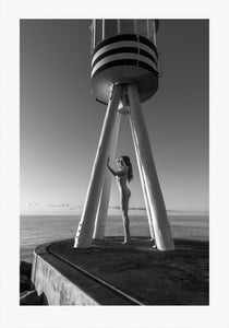 TH2015-1730 - Lifeguard tower, [product_type) - Thomas Holm Photography - CommandoArt.com
