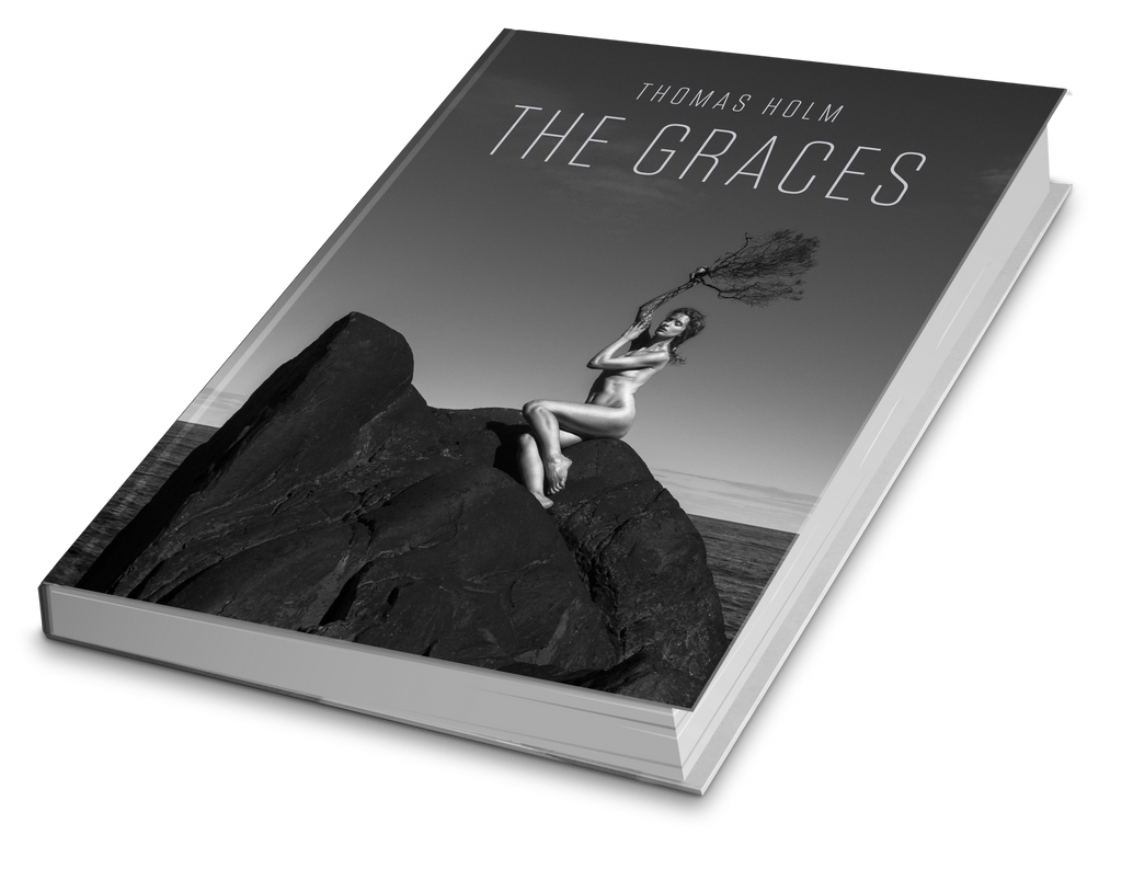 The Graces, book by Thomas Holm. 192 pages Hardcover
