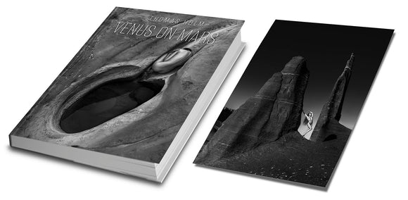 Ltd. Edition Print + Venus On Mars - Book by Thomas Holm 216 pages Hardcover