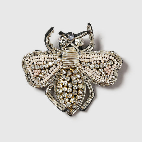 Golden Bee Brooch